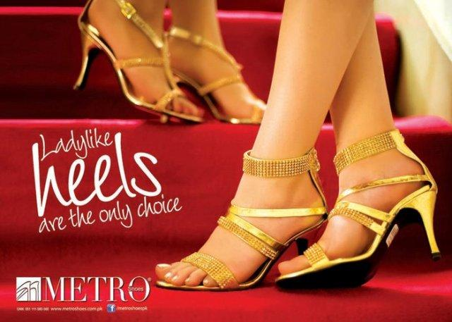 high heels sandals By Metro Shoes Latest Eid Mid Summer Shoes 2012 For Women
