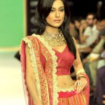Actress Amrita Rao walks for Agni Jewellers at IIJW 2012 (4)