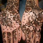 Beautiful Eid-ul-fiter hand Mehndi Designs 2012