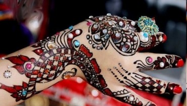 Beautiful Eid-ul-fiter hand Mehndi Designs