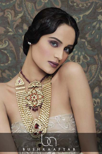 Bushra Aftab Fine Diamonds & Kundan Polki Stylish Jewelry Sets (3)