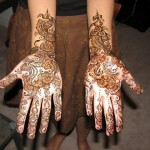 Colorful & Beautiful Eid hand Mehndi Designs 2012 for Girls (1)