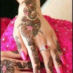 Colorful & Beautiful Eid hand Mehndi Designs 2012 for Girls and Women (5)