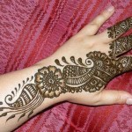 Colorful & Beautiful Eid hand Mehndi Designs 2012 for Girls and Women (6)