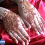 Colorful & Beautiful Eid hand Mehndi Designs 2012 for Girls and Women (7)