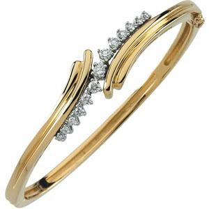 Diamond Bangles For Girls