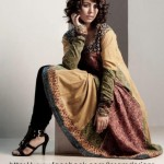 Insam Ajrak Latest Awesome Wedding Stylish Collection 2012 For Girls (2)
