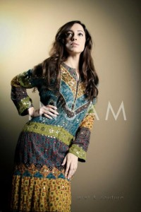 Insam Ajrak Latest Awesome Wedding Stylish Collection 2012 For Girls (5)