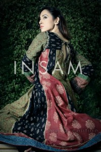 Insam Ajrak Latest Awesome Wedding Stylish Collection 2012 For Girls