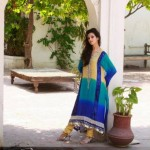 Latest Eid Mid summer Dresses Collection 2012 For Women By Qimash
