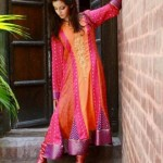 Latest Eid Mid summer Dresses Collection 2012 For Women By Qimash (2)