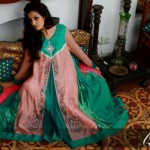 Latest Eid Mid summer Dresses Collection 2012 For Women By Qimash (5)