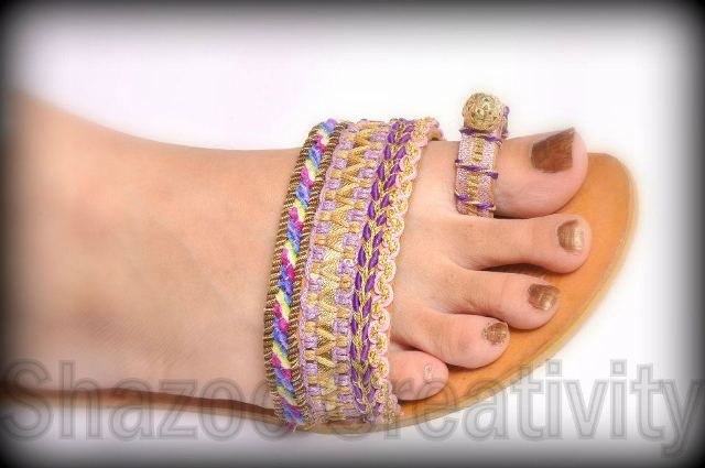 Latest Kolhapuri Eid Footwear Collection 2012 By Shazoo Creativity 001