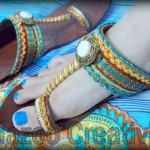 Latest Kolhapuri Eid Footwear Collection 2012 By Shazoo Creativity 002