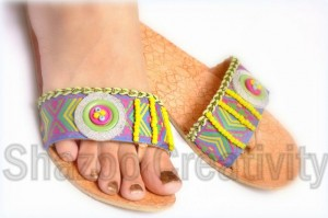 Latest Kolhapuri Eid Footwear Collection 2012 By Shazoo Creativity 005