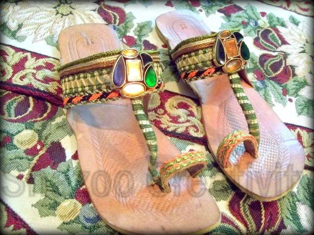 Latest Kolhapuri Eid Footwear Collection 2012 By Shazoo Creativity 006