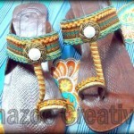 Latest Kolhapuri Eid Footwear Collection 2012 By Shazoo Creativity 007