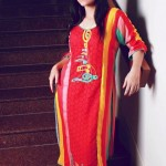 Latest Maansal Estilo Stylish outfit Summer Party Wear 2012 Collection (1)