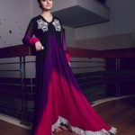 Latest Maansal Estilo Stylish outfit Summer Party Wear 2012 Collection (2)