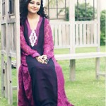 Latest Maansal Estilo Stylish outfit Summer Party Wear 2012 Collection (3)