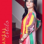 Latest Maansal Estilo Stylish outfit Summer Party Wear 2012 Collection (5)