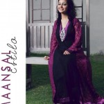 Latest Maansal Estilo Stylish outfit Summer Party Wear 2012 Collection (6)
