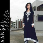 Latest Maansal Estilo Stylish outfit Summer Party Wear 2012 Collection (8)
