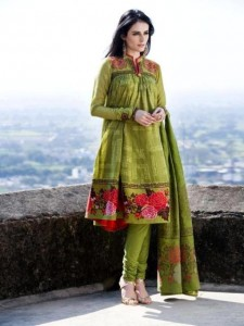 Latest Virsa Jacquard Lawn Prints 2012-13 By Five Star Clothing (2)