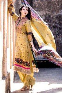 Latest Virsa Jacquard Lawn Prints 2012-13 By Five Star Clothing (3)
