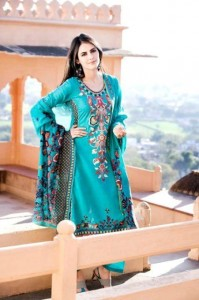 Latest Virsa Jacquard Lawn Prints 2012-13 By Five Star Clothing (7)