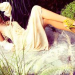 Latest Western Evening Wear Outfits Shoot for Sunday Times By Maheen Karim
