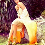 Latest Western Evening Wear Outfits Shoot for Sunday Times By Maheen Karim (2)
