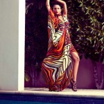 Latest Western Evening Wear Outfits Shoot for Sunday Times By Maheen Karim (5)