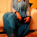 Latest stylish Eid Dresses 2012 for women turquoise