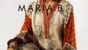 Maria.B Evening & Eid Wear Dress outfits 2012
