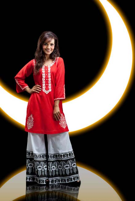 Pakistani Dress Designers Collections 2012-13 at One by Ensemble