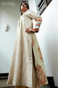 Saaya Embroidery Summer Party Wear Dresses Collection 2013 for Women
