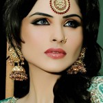Stylish Bridal Makeup & Hair Styles By N-Pro Nabila Salon
