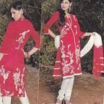 Stylish Eid ul Fitr Salwar Kameez Collection 2012-13 By Mansha Boutique