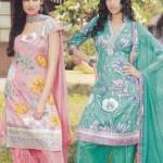 Stylish Eid ul Fitr Salwar Kameez Collection 2013 By Mansha Boutique