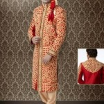 Stylish Groom Sherwani Designs Collection For Wedding 2012-2013 (1)
