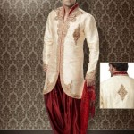 Stylish Groom Sherwani Designs Collection For Wedding 2012-2013