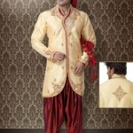 Stylish Groom Sherwani Designs Collection For Wedding 2012-2013 (2)