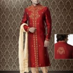 Stylish Groom Sherwani Designs Collection For Wedding 2012-2013 (6)