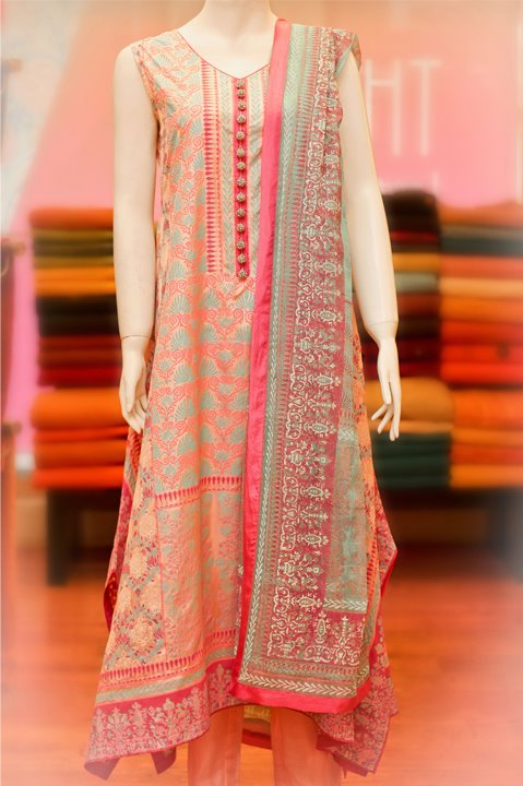 Thredz Eid Dresse Collection 2012 for Women and Girls (6)