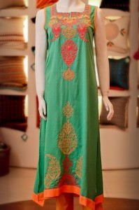 Thredz Eid Dresse Collection 2012 for Women and Girls (7)