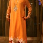 Turquoise Latest stylish Eid Dresses 2012