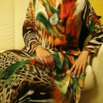 Turquoise Latest stylish Eid Dresses 2012 for women