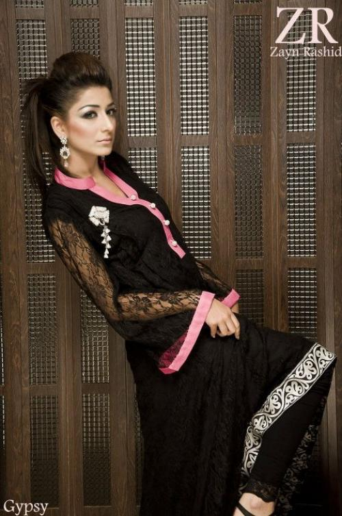 Zayn Rashid Latet Ready to Wear Glory Eid Lawn Suits 2012 For women