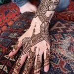 new Eid-ul-fiter hand Mehndi Designs 2012
